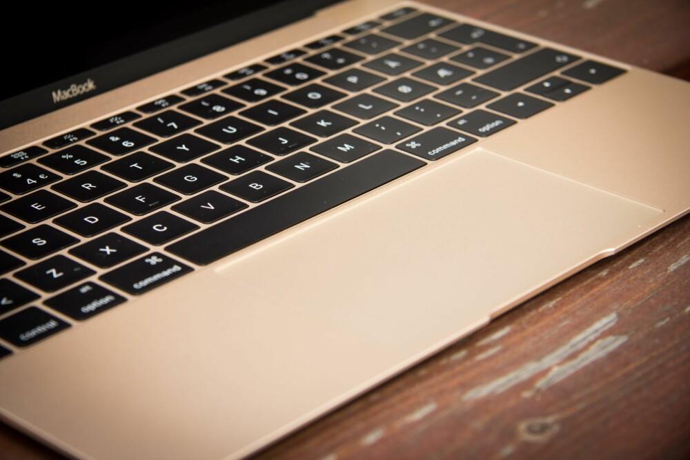 STYRING: Om tastaturet er ukomfortabelt, er i hvert fall pekeplaten utrolig bra.