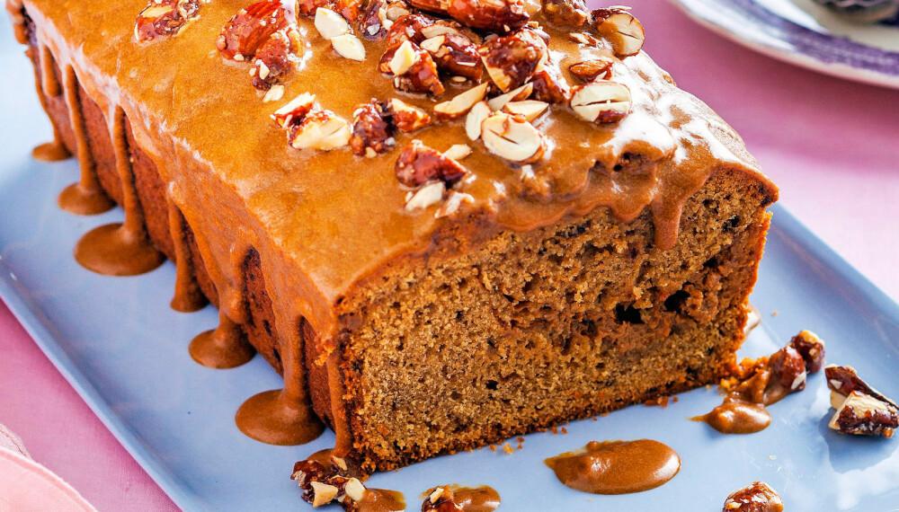 KAFFEKAKE: Med deilig smak av kaffe - denne kaken er virkelig god!