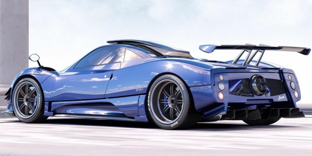 Mercedes 7,3-liters V12-er utvikler 760 hestekrefter. 0-100 km/t går unna på under tre sekunder, og toppfarten skal være godt over 350 km/t.