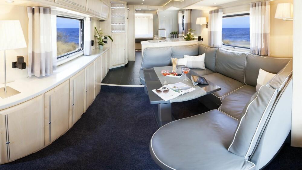 LEILIGHET: Å bo i en Volkner er som å bo i en liten leilighet. Hele 30 kvadratmeter gulv er til rådighet på de største modellene.