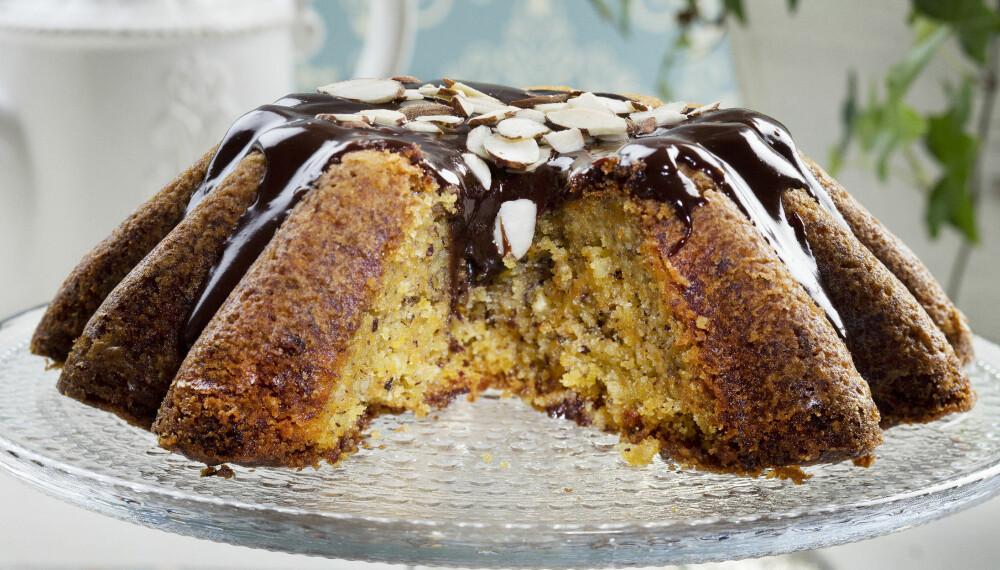 1-2-3: Denne kaken er snarbakt og enkel å lykkes med. Har du ikke en randform, duger en vanlig brødform utmerket.