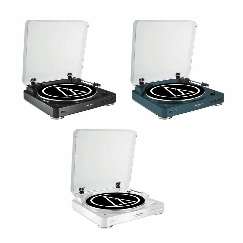 FARGER: Audio Technica AT-LP60-BT kommer i flere ulike farger.