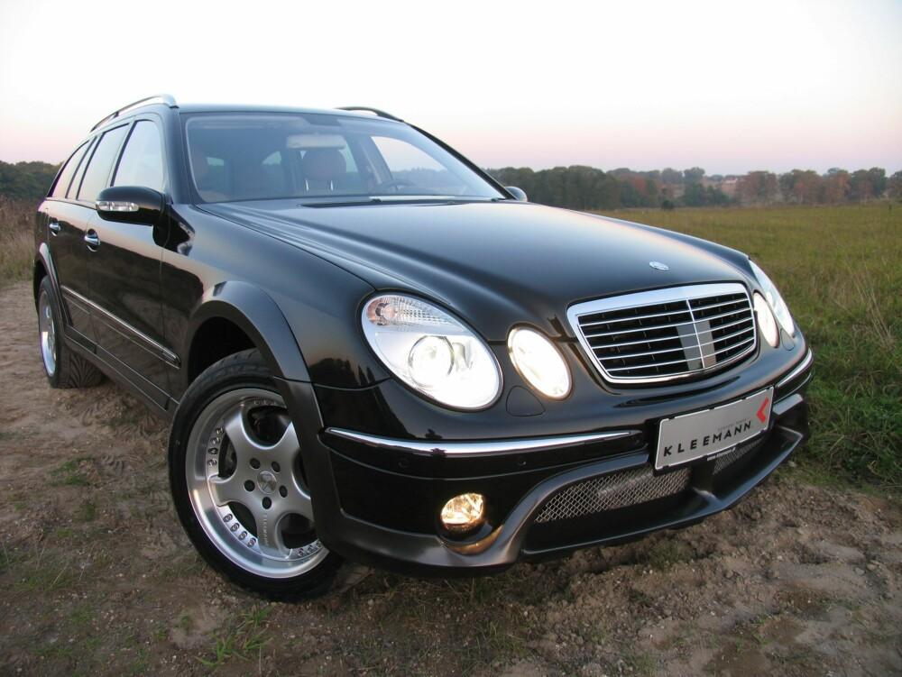 """ALLROAD: Kanskje kommer Mercedes med en """"hyttebil""""? FOTO: Produsent"""