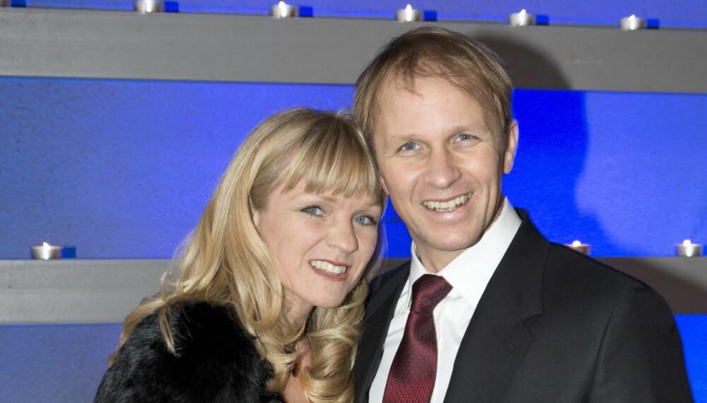 PETTERS GULL: Petter er godt gift med svenske Pernilla, som han har sønnen Oliver med.