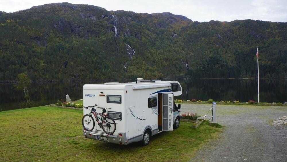 NATUR: Rullestad Aktiv Camping i Sunnhordland er et eksempel på fylkets flotte plasser.