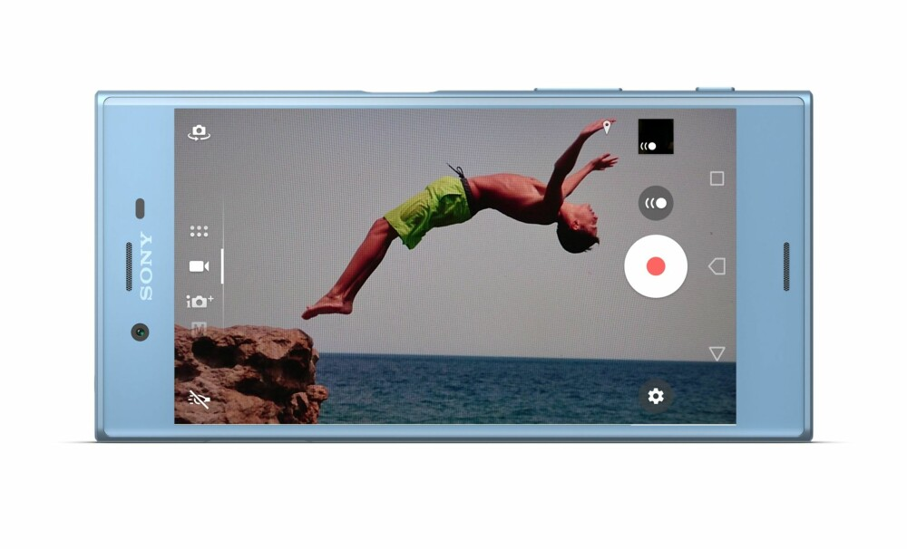 SAKTEFILM: Sony Xperia XZs kan filme med 960 bilder per sekund. Riktignok bare i 0,18 sekund, men nok til at du får kule effekter.