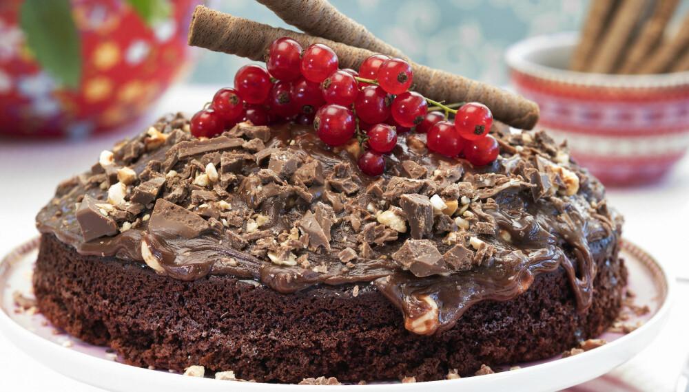 Prøv Firkløver som glasur på kaken.