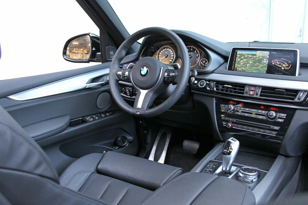 PRISVINNER: Den rimeligste BMW X5 40e koster 784 800 kroner og ligger ca. 120 000 kroner under den sammenlignbare dieselutgaven (30d) i pris.