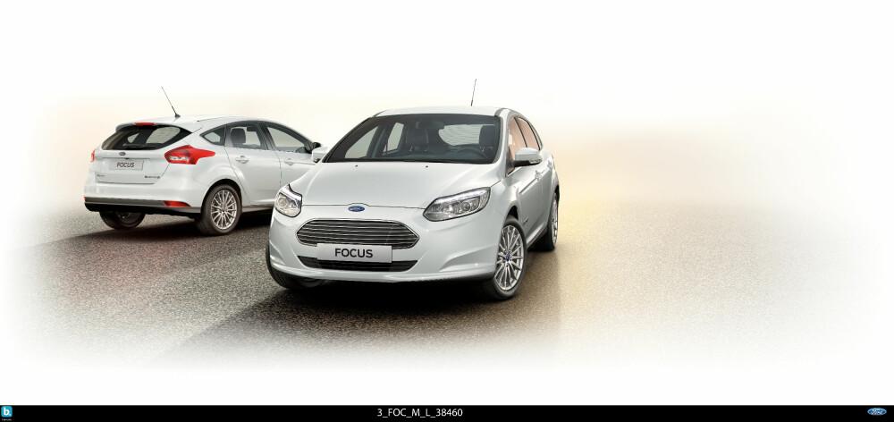 VELKJØRENDE: Ford Focus Electric har veldig fine kjøreegenskaper og gode ytelser. Nå kommer den med bedre rekkevidde, mulighet for hurtiglading og mer utstyr, til lavere pris.