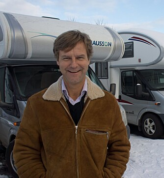 Jan Erik Høglie drev i mange år bobilutleien Rent a Snail i Asker