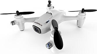 Små innendørsdroner, slik som Hubsan X4 Cam Plus 107C+, er et alternativ i vinterhalvåret. Denne får du hos Teknikmagasinet til 600 kroner.
