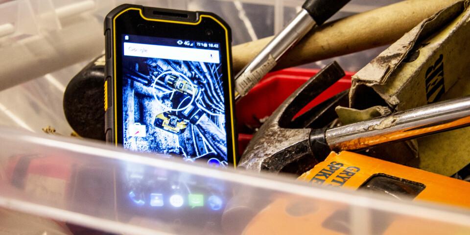 VERKTØY: Dewalt MD501 er helt klart laget for å kunne ligge sammen med andre verktøy.