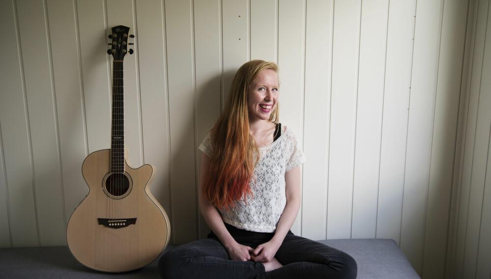 Håp: – Musikk gir så mye mening, sier Tone Rose. Hun håper hun kan tenne noen lys eller gi håp med låtene hun skriver.