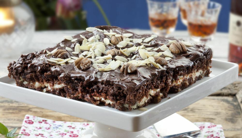 UIMOTSTÅELIG: Kremosten i kaken gir en deilig balanse mellom syrlighet og sødme.