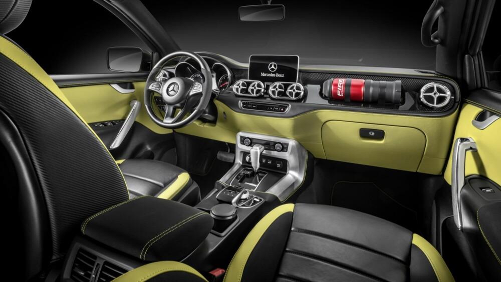 PICKUP: Mercedes X-klasse. Foto: Daimler AG