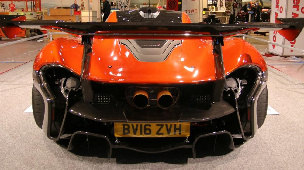 RÅTT: Arne Fredlys McLaren P1 GTR. Foto: Martin Jansen