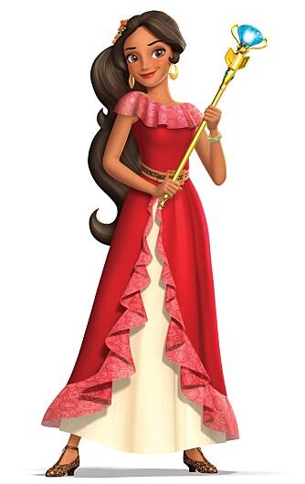 Elena er ikke helt som andre Disney-prinsesser.