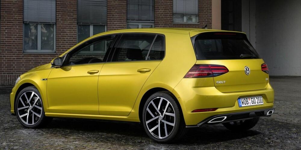 KOMMER SNART: Forhåndssalget av nye Volkswagen Golf starter i midten av januar 2017.