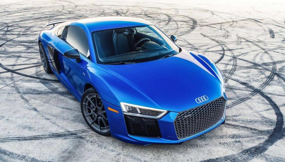 ULV I ULVEKLÆR: Audi R8 V10 Plus er alt annet enn en sinke i originalutførelse. Etter en runde hos Dallas Performance nesten firedobles effekten.