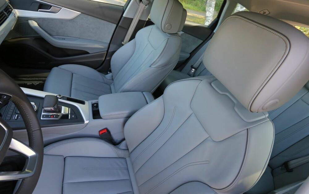 HELT TOPP: Få matcher Audi på opplevd kvalitet og materialkvalitet, og Audi A4 Allroad er ikke et unntak.
