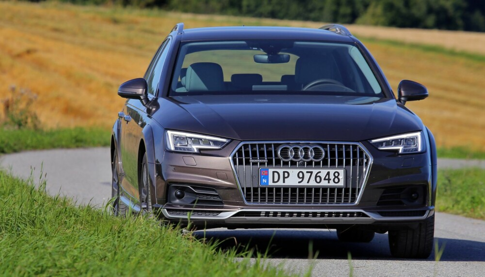 LITT BEDRE: Vi liker Allroad-varianten hakket bedre enn den normale A4 Avant quattro. På oss virker kjørefølelsen mer gedigen – kall det gjerne luksusaktig.