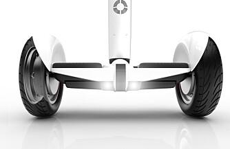BALANSE: Segway APR baserer seg selvsagt på Segways velkjente selvbalansering.