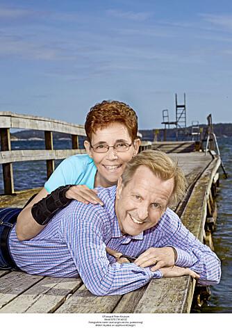 RIKT LIV: Livet med Sven-Erik er rikt, sier Marie. De ser med glede tilbake på de 43 årene som de har hatt sammen.