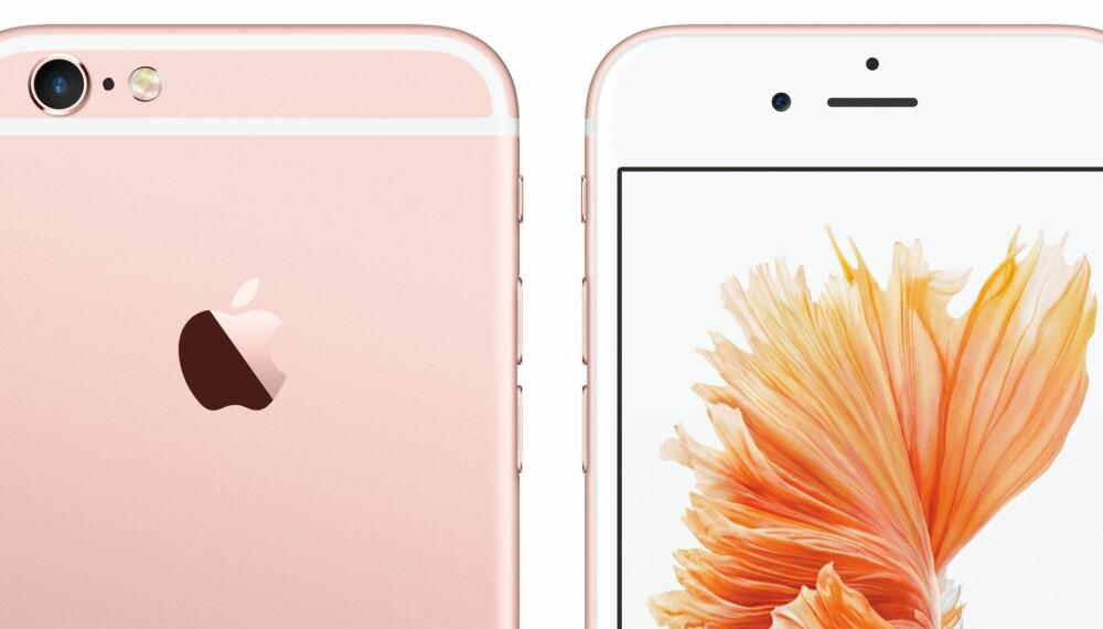 AVANSERT: Apple lover at nye iPhone 6s og 6s Plus skal være verdens mest avanserte smartmobiler.