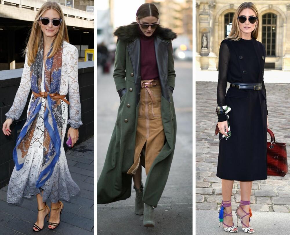 BELTEMESTER: Olivia elsker belter, og bruker det både til skjørt, kjoler og jeans.