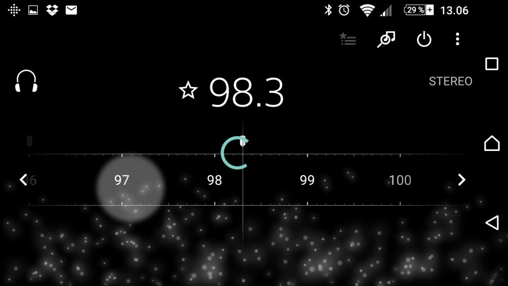 FM-RADIO: På de fleste Xperia-mobiler får du med FM-radio. Det norske FM-nettet skal lukkes ned i 2017.