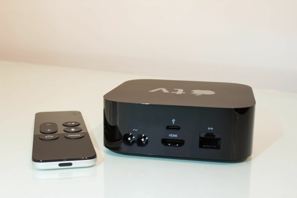 PORTER: Den optiske lydutgangen har forsvunnet på nye Apple TV.