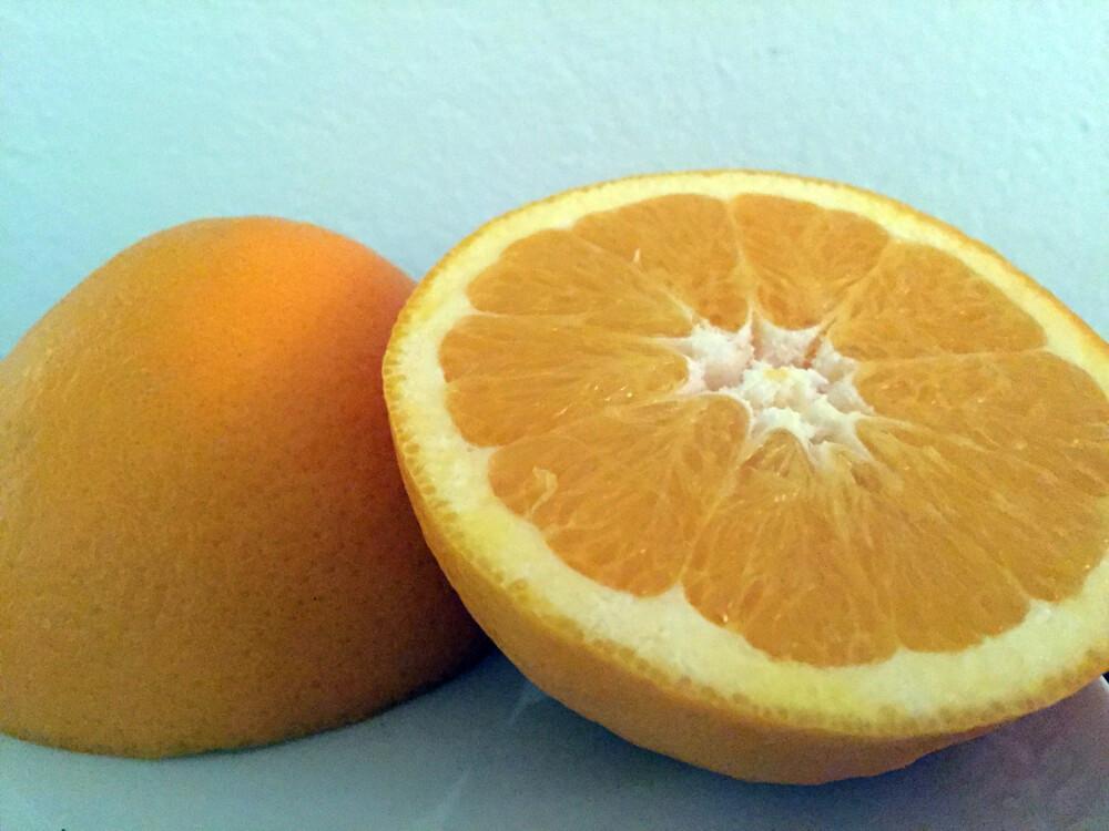 APPELSIN: Appelsin som skrubb? Ja!