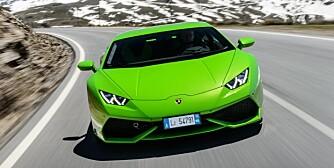 Lamborghini Huracan, Sierra Nevada mountains, Spain.  Photograph: James Lipman // jameslipman.com