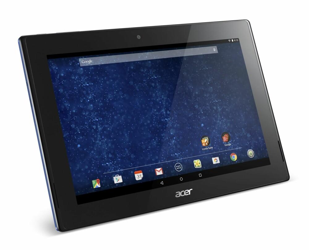 PRISGUNSTIG: Acer Iconia Tab 10 (A3-A30) er et prisgunstig nettbrett.