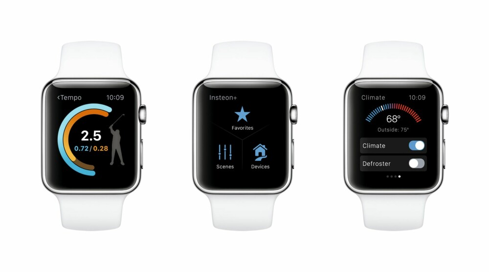 APPER: Er dine favorittapper tilgjengelig også for Apple Watch? Da stiger sannsynligvis nytteverdien av å ha en slik klokke.