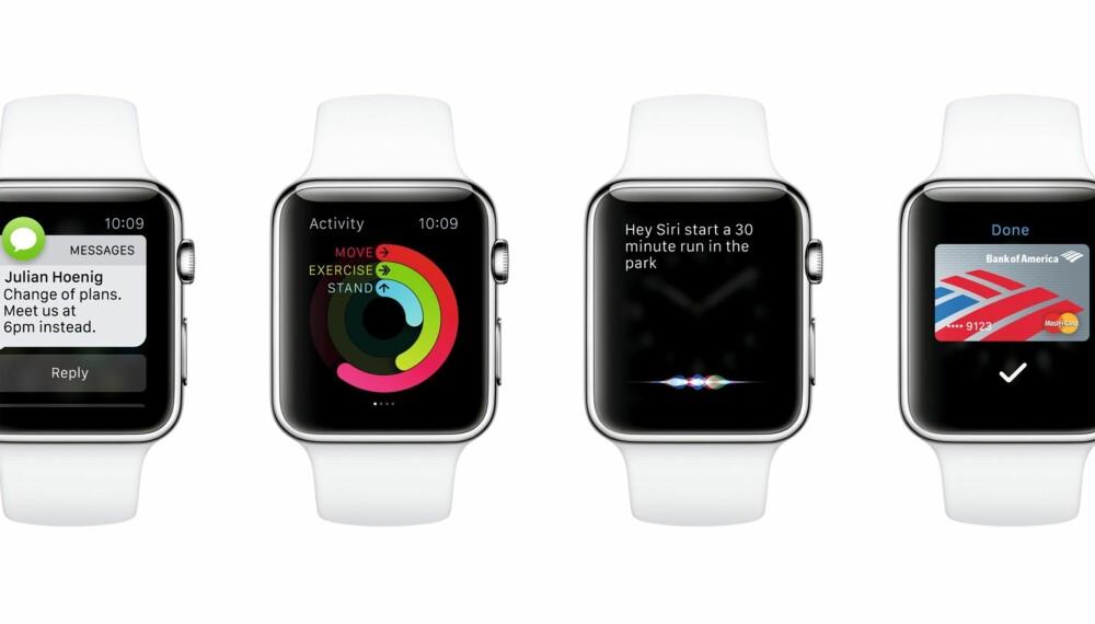 ENDELIG: Mange har ventet på Apple Watch, og fredag er den endelig å få kjøpt i Norge.