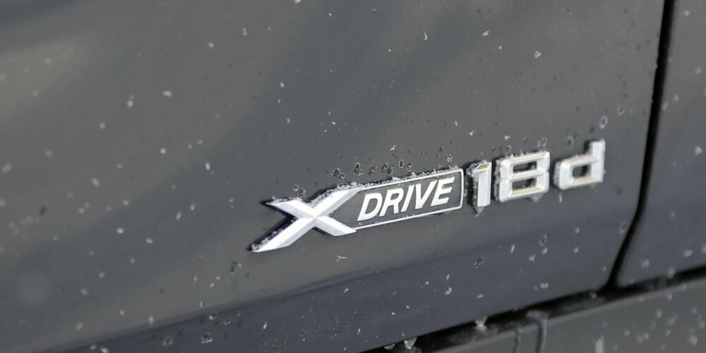VANLIGST: De aller fleste X1-modellene på bruktmarkedet er 18d-versjoner med 136 eller 143 hk.