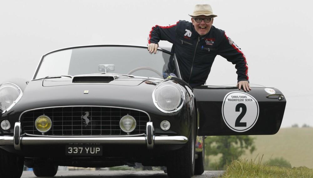 TOP GEAR: Chris Evans er mannen som skal lede Top Gear-TV etter Jeremy Clarkson. FOTO: Newspress