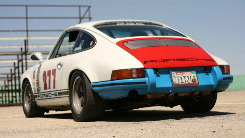 RACE: Porsche 911 fra 1971. FOTO: Privat