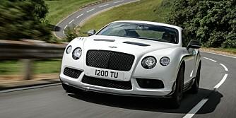 DISKRESJON LOVES IKKE: Hva var det jeg kjørte igjen? Bentley sier det diskré. FOTO: Bentley