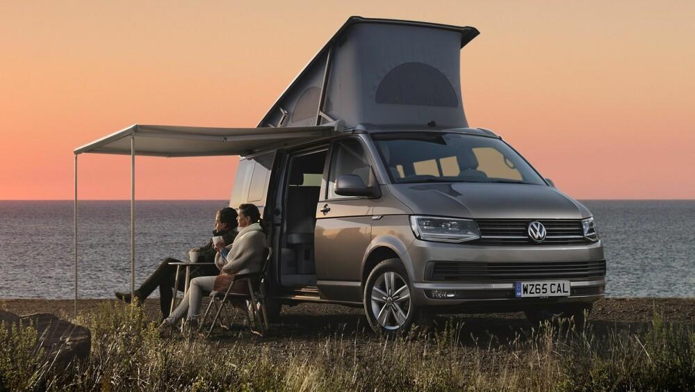 CAMPINGBIL: Nye VW California T6.