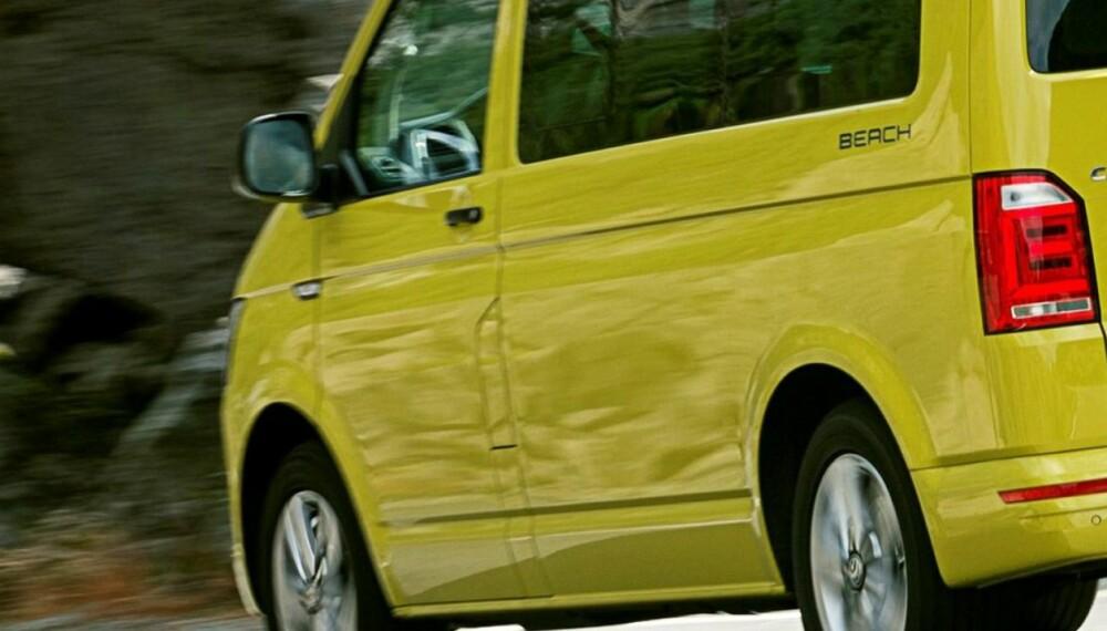 DESSVERRE: VW California er bruksbil og feriebil i ett. Dessverre har avgiftene tatt livet av denne bilen i Norge. ALLE FOTO: Produsent