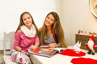 HJEMMEKOS: Emilie gleder seg til å feire jul i år. Men julen frembringer også mange vonde minner. Her med mamma Linn Hege.