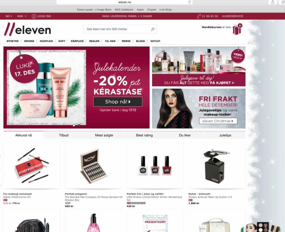 8604ad37 SVENSKESHOPPING: Eleven.no er en av Skandinavias største nettbutikk for  skjønnhetsprodukter.