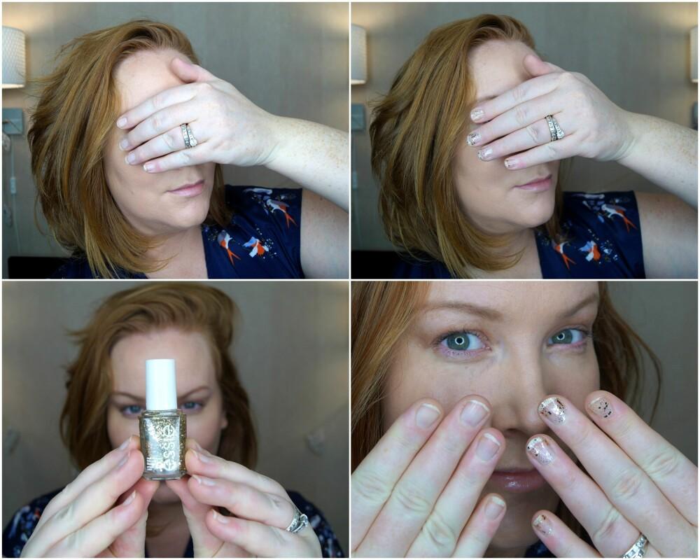 BEST NEGLELAKK: Selv de mest ustelte neglene og hendene ser (mer eller mindre) smashing ut med litt gullneglelakk regelrett slengt over seg!