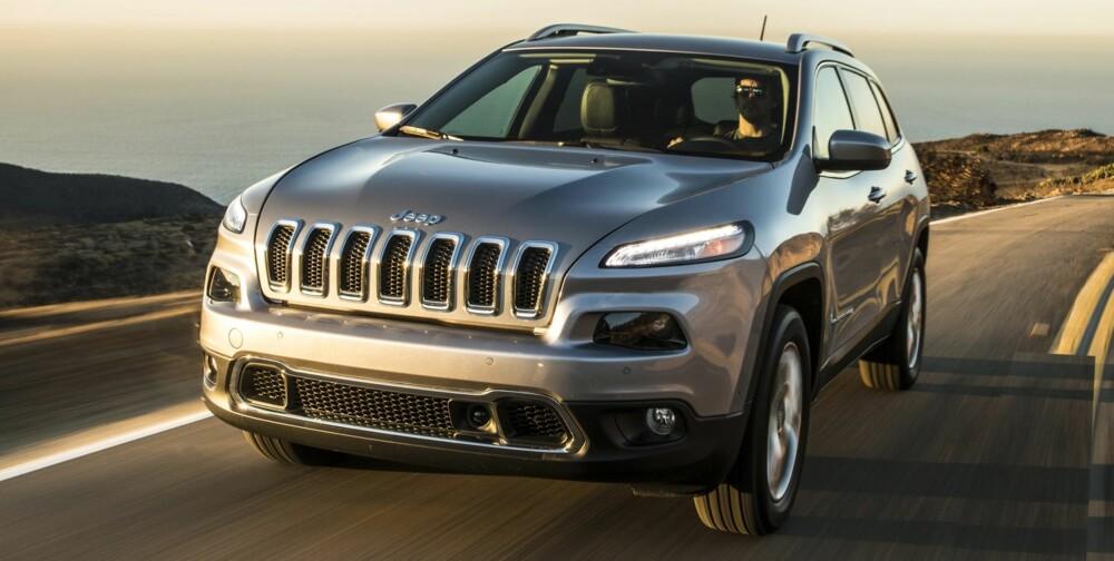 KONTROVERSIELL: Den nye designen er distraherende, og utseendet vil sannsynligvis avgjøre om nye Cherokee blir en suksess. FOTO: Produsent
