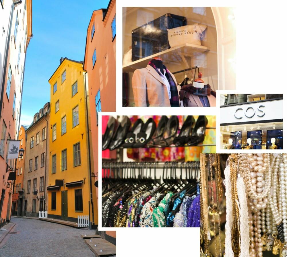 SHOPPING: I Stockholm finner du alt du måtte tenke deg av butikker, og de største kjedebutikkene ligger alle i nærheten av Stureplan.