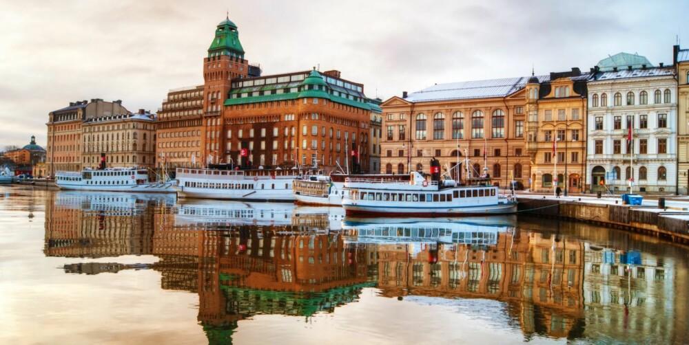 STOCKHOLM: I Stockholm finner du også et hav av fantastiske restauranter og spisesteder som venter på å bli oppdaget, samt et yrende uteliv med kule vinbarer og hippe utesteder.
