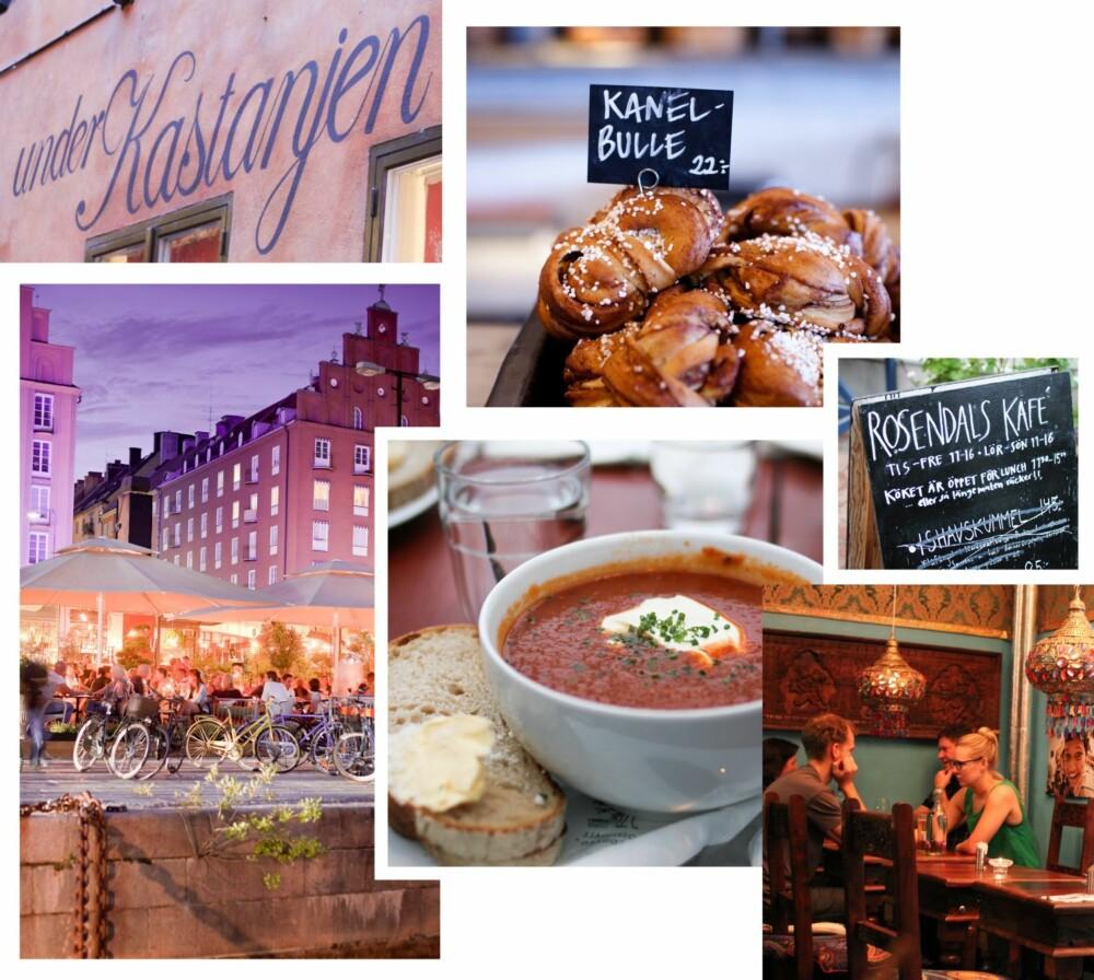 EN TIME UNNA: Stockholm er med sin vakre arkitektur, gode shoppingmuligheter og pulserende kafé- og kulturliv et spennende reisemål, og ligger bare en times tid unna med fly.