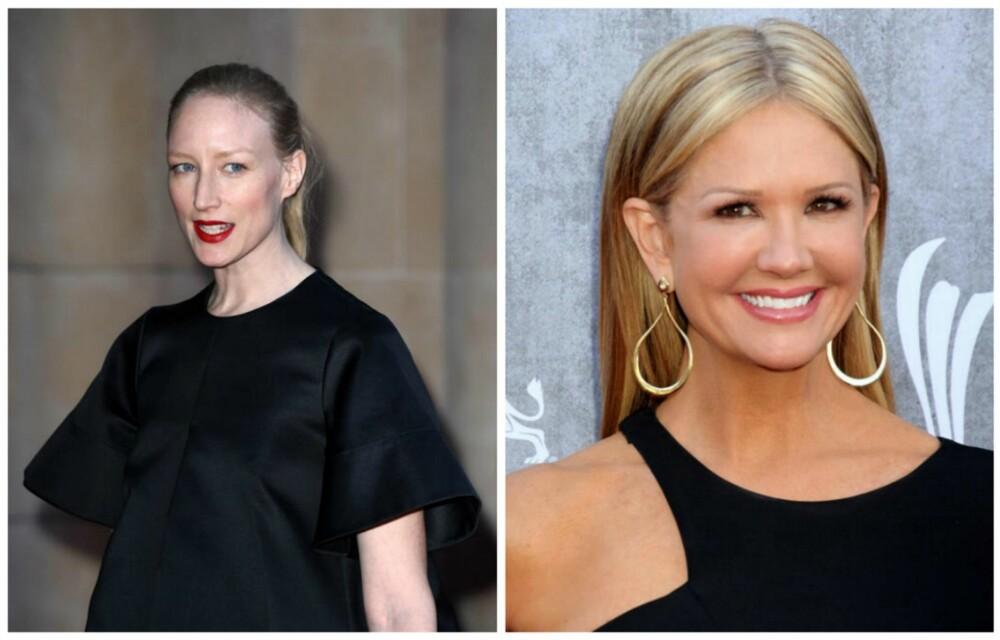 JA OG NEI: Ser du hvem som har fått det til her? Svart tar lett bort fargen i ansiktet, så det gjelder å matche det sorte plagget med smykker eller farger du kler. Sølvsmykker kan være med på å gi gløden i ansiktet tilbake. Kvinnen til høyre kler også sort bedre enn kvinnen til venstre, fodi hun har en dypere hudtone enn hun til venstre.